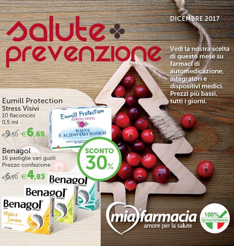 SALUTE E PREVENZIONE DICEMBRE 2017